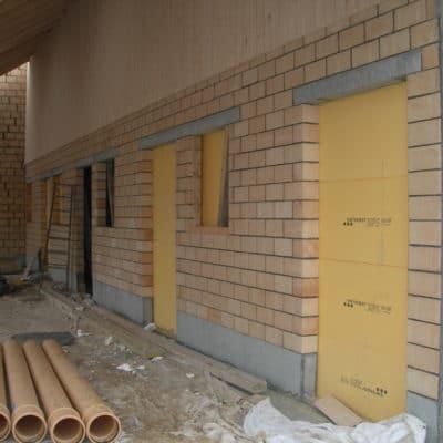 Anbau Scheune Mauerwerk