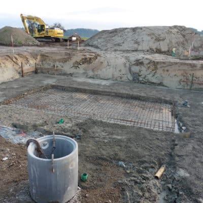 Betonbau Bodenplatte Keller