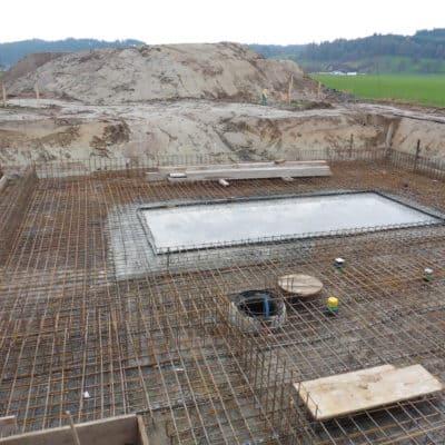 Betonbau Bodenplatte Armierung