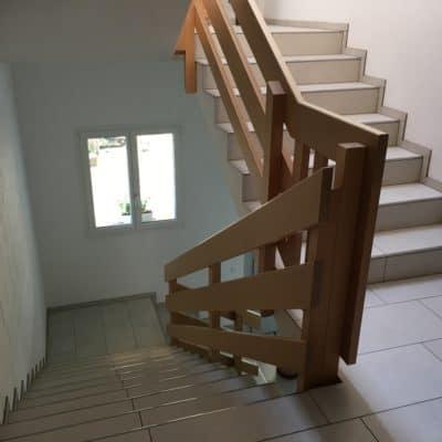 Anbau Treppenhaus nach Fertigstellung